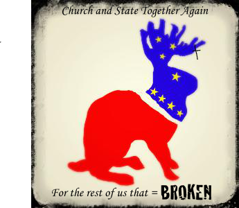 Church and State Jackelope
