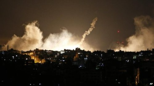 Israel starts Gaza ground offensive