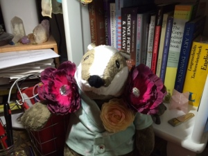 The latest in floral and rhinestone shoulder pads, for the most fashionable badgers.